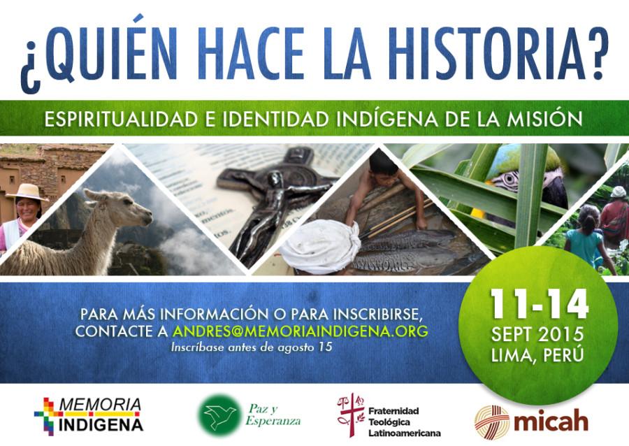 Primer encuentro internacional de Memoria Indígena